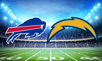Football game Bills vs chargers